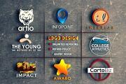 I will create professional logo design and branding 15 - kwork.com