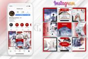 Unique design of your instagram content 6 - kwork.com
