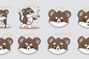 I'll develop stickers 11 - kwork.com