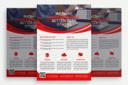 I will design flyer, business flyer, corporate flyer, church flyer 9 - kwork.com