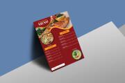 I will design, food menu, restaurant menu, price list 17 - kwork.com