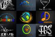 I will create modern minimalist logo design 4 - kwork.com