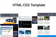 I will sell HTML-CSS Template 4 - kwork.com