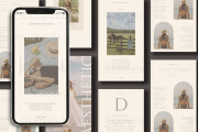I will design instagram post and stories templates 4 - kwork.com
