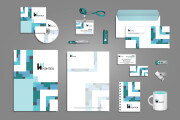 I will develop corporate identity element for your company 10 - kwork.com