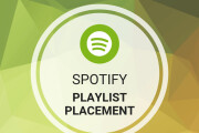 I will do viral spotify playlist promotion via playlist placement 12 - kwork.com