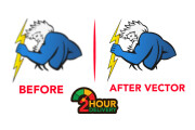I will do vector trace or recreate any logo or image within 2 hrs 14 - kwork.com