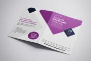 I will design corporate tri-fold or bi-fold brochure for business 13 - kwork.com