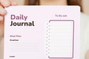 Design creative planners or journal or calendar 12 - kwork.com