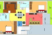 Architecture drawings, Township Layout plans, Residential Floor plans 11 - kwork.com