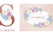 I will design a watercolor logo for your company 7 - kwork.com