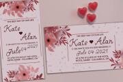 Party, wedding, birthday invitations 5 - kwork.com
