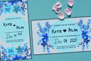Party, wedding, birthday invitations 4 - kwork.com