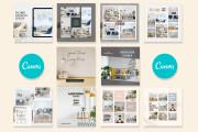 I will design Instagram post in canva 10 - kwork.com