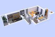 3d layout of the premises 6 - kwork.com