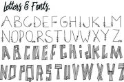 I will create a font based on your handwriting 4 - kwork.com