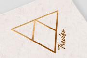 Minimalist creative logos for your company with hidden deep sense 7 - kwork.com
