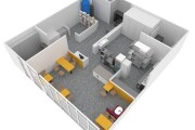 3d layout of the premises 10 - kwork.com