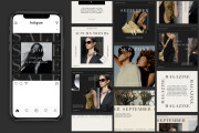 I will create high quality instagram post templates 4 - kwork.com