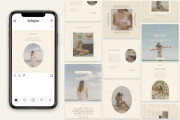 I will create high quality instagram post templates 5 - kwork.com