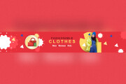 I will design creative stylish youtube channel art cover banner 6 - kwork.com