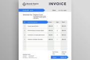 I will design order form, invoice, price list, or rate list 4 - kwork.com