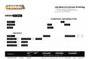 Create a company interactive Invoice, Registration, order form 10 - kwork.com