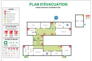 Create fire emergency evacuation plan, maps, diagram 6 - kwork.com