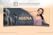 I will create Facebook cover photo and other social media banner 7 - kwork.com