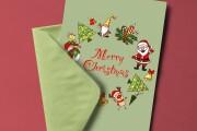 I will create a customized greeting card 8 - kwork.com