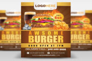 I will design professional restaurant food menu flyer In 24 hrs 6 - kwork.com