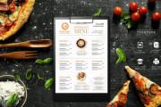 I will design, food menu, restaurant menu, price list 4 - kwork.com