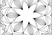 I will give you 1950 premium mandala coloring page 18 - kwork.com