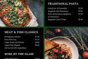 Restaurant menu 4 - kwork.com