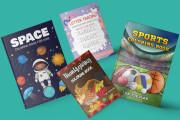 Design amazon KDP book cover, fix design, journal cover, notebook 5 - kwork.com