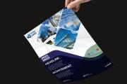 I will do professional corporate creative modern business flyer design 6 - kwork.com