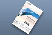 I will do professional corporate creative modern business flyer design 10 - kwork.com