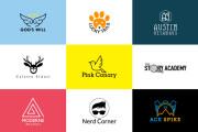 I will do modern minimalist business logo design in 24hr 14 - kwork.com