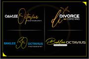 Will create a stylish and stunning hand drawn signature logo 4 - kwork.com