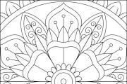 I will give you 1950 premium mandala coloring page 20 - kwork.com
