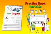 I will make handwriting practice letters tracing workbook for kids 13 - kwork.com