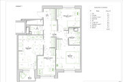 Apartment plan ideas. Planning solution for an apartment or house 7 - kwork.com