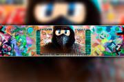 Full Design of the YouTube channel. Banner for Youtube, avatar 7 - kwork.com