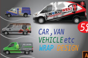 I will wrap car or vehicle for you 6 - kwork.com