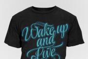 I will do a T-shirt Design for You 6 - kwork.com