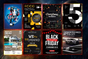 I will design flyers for your business, church, event, and party 5 - kwork.com