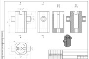I will make drawings in Autodesk AutoCAD 11 - kwork.com
