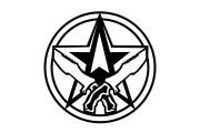 Make a sketch of mascot logo 10 - kwork.com
