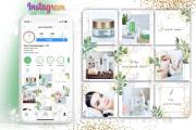 Unique design of your instagram content 4 - kwork.com