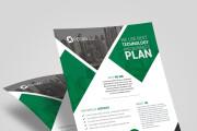 Flyer design 10 - kwork.com